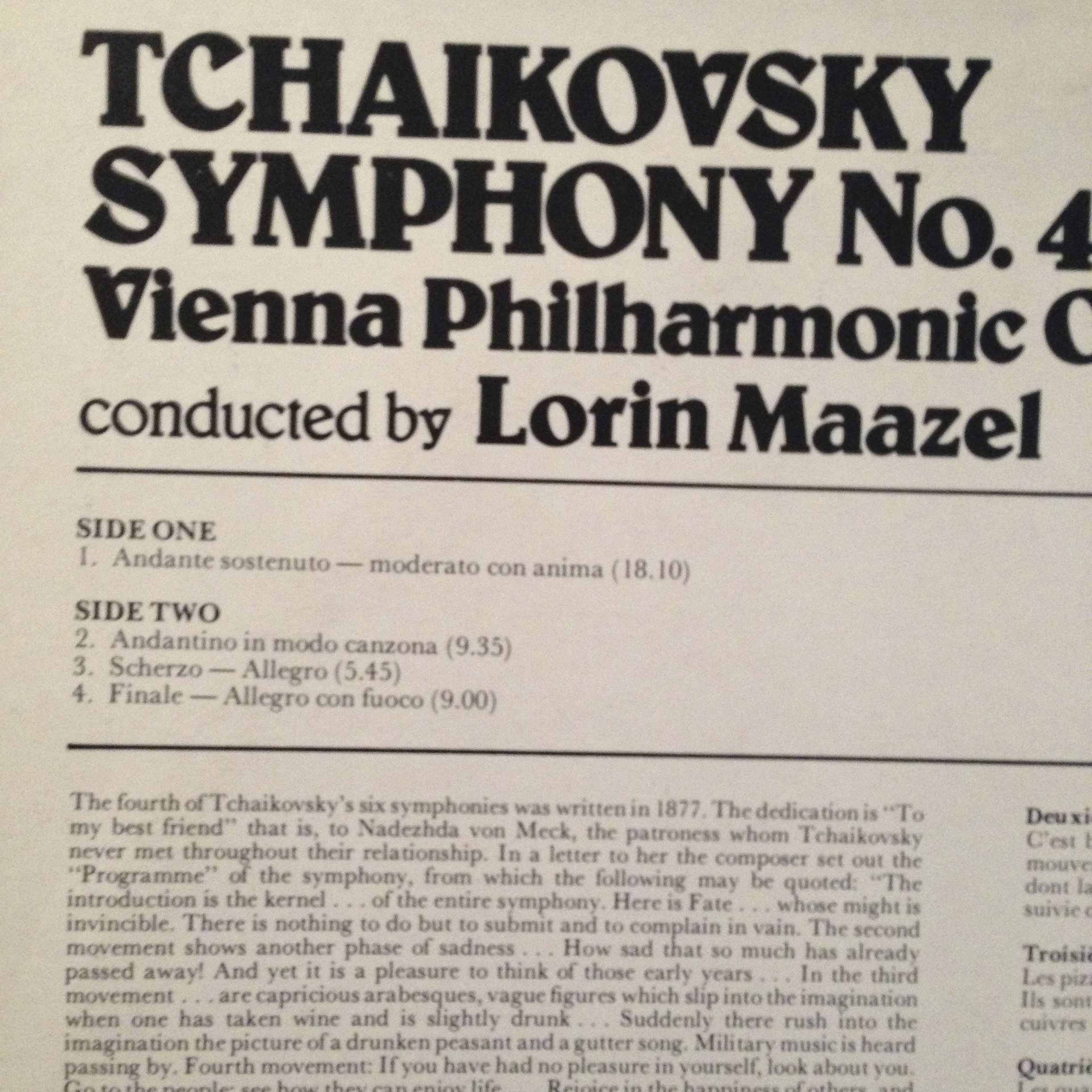 tchaikovskys symphony in f minor essay And orchestra op4 (1852) concerto movement in f sharp minor 'op1' (1855-6)  piano  piano concerto, tchaikovsky's piano concerto no1 in b flat  bortnyansky's slim  far superior from every point of view is rimsky-korsakov's  essay.