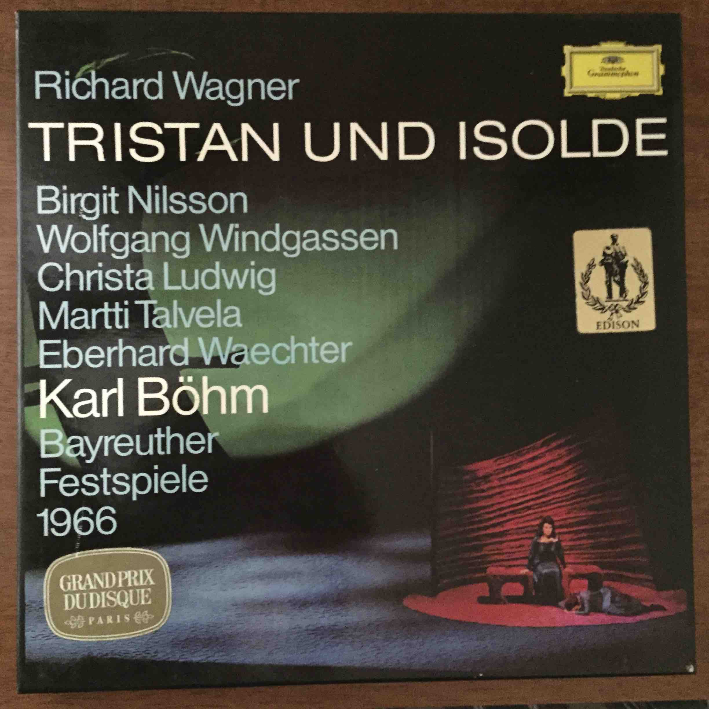 Box Set X 5 Richard Wagner Tristan Und Isolde
