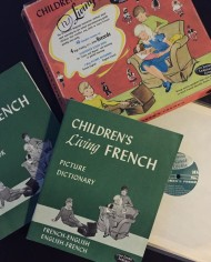 Children's Living French, Lessons on Vinyl and Books 7