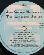John Cougar Mellencamp, The Lonesome Jubilee 4
