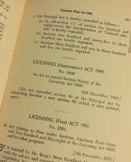 Meagher, Licencing Law & Practice, 1952, Australia,  5