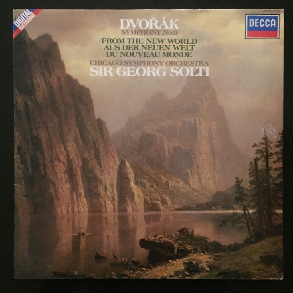 Dvořák, Chicago Symphony Orchestra, Sir Georg Solti, Symphony No  9 From  The New World, DECCA, 1984